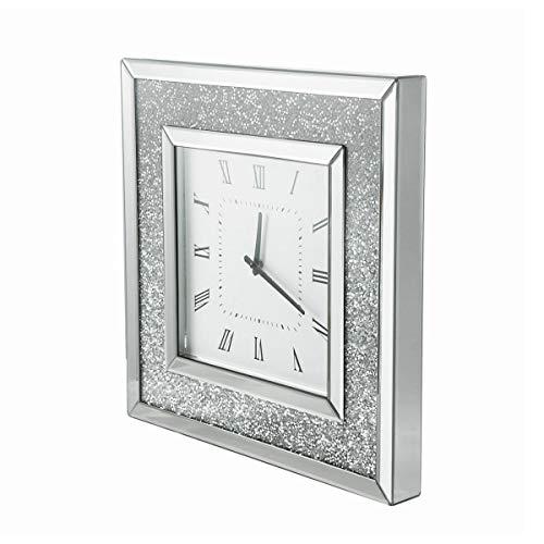 Mirrored Wall Clocks